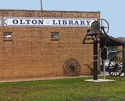 Olton Area Library Logo